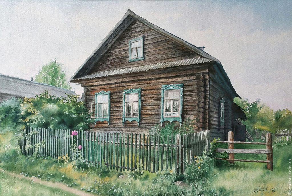 maison en russe