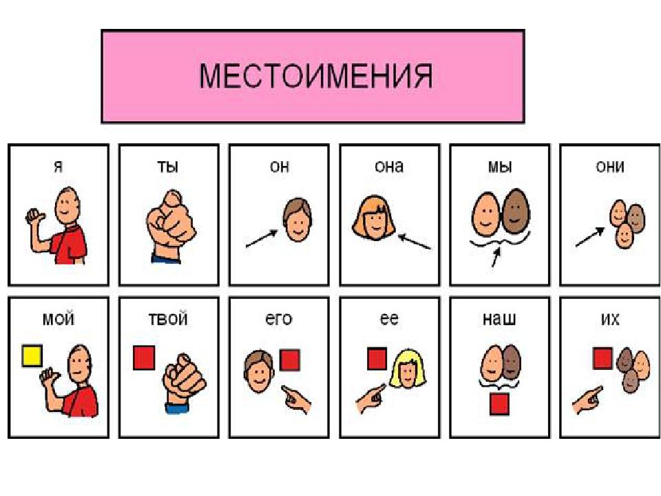 les pronoms possessifs en russe